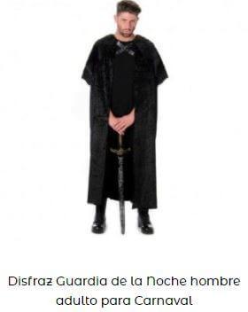disfraz guardián de la noche juego de tronos disfraces friki