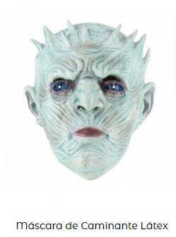 máscara caminante blanco juego de tronos disfraces friki