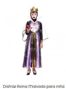 orgullo friki reina blancanieves disfraz