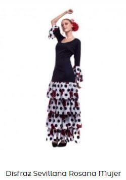vestirse de flamenca traje mujer