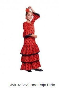 vestirse de flamenca traje niña