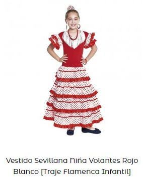 vestirse de flamenca traje