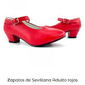 zapatos vestido flamenca