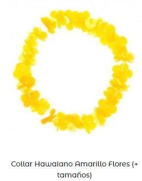 accesorios amarillo Yellow Day collar