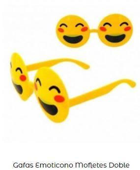 accesorios amarillo Yellow Day gafas emoji
