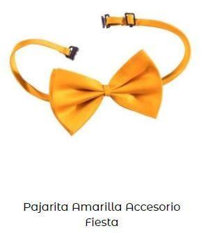 accesorios amarillo Yellow Day pajarita