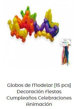 decoración con globos verbena san juan modelar