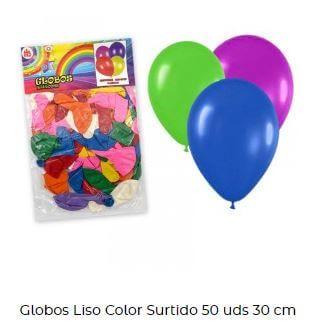 decoración con globos verbena san juan