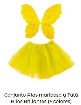disfraz para Yellow Day hada