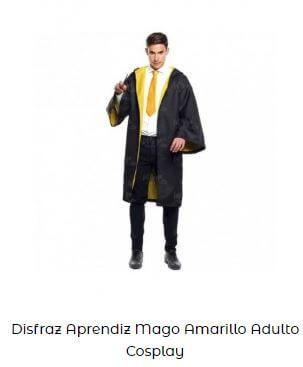 disfraz para Yellow Day Harry Potter Hufflepuff