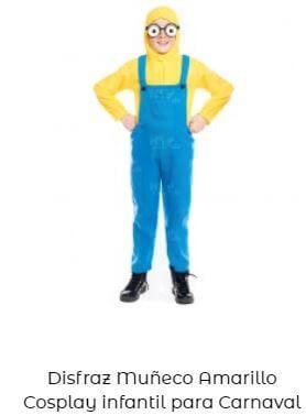 disfraz para Yellow Day minion