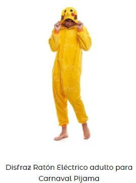 disfraz para Yellow Day Pikachu