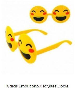 gafas disfraz emoticono alegre