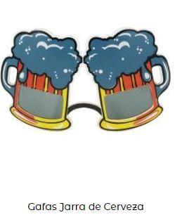 gafas disfraz emoji brindis cerveza
