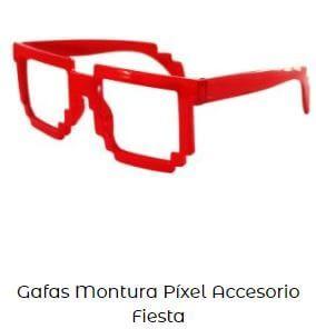 gafas rojas para San Fermín