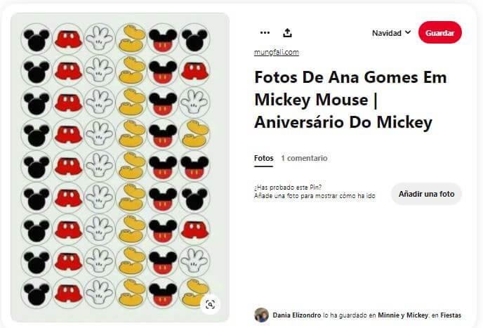 cumpleaños Mickey juegos tres en raya