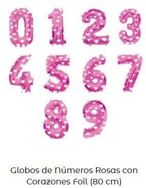decoración minnie baby globos rosas