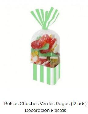 chuches Candy bar low cost