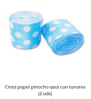 cinta papel pinocho Candy bar
