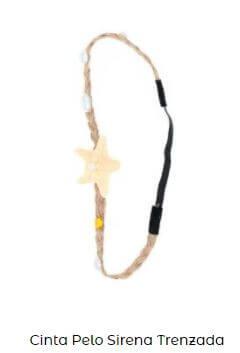cinta pelo accesorios para fiesta de sirenas