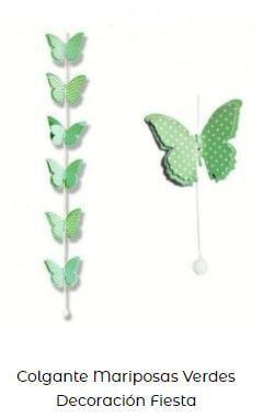 decoración mariposas fondo Candy bar