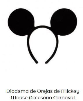 orejas Mickey Mouse fiesta cumpleaños