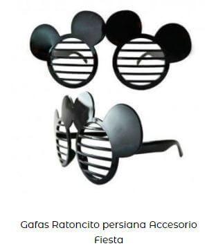 gafas Mickey mouse fiesta cumpleaños