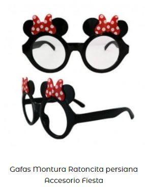 gafas minnie mouse fiesta cumpleaños
