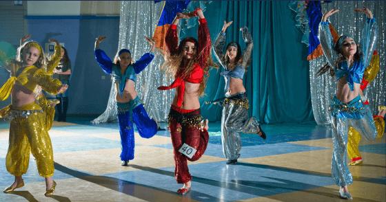 disfraz danza del vientre ensayo grupo