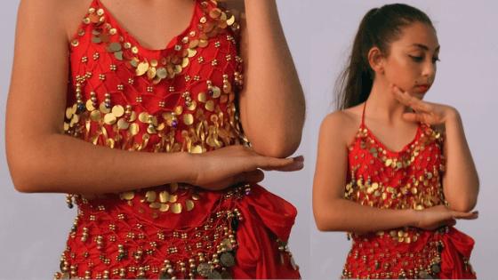disfraz danza del vientre