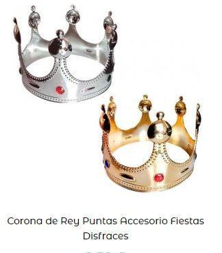 disfraz tritón corona