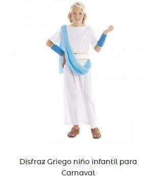 disfraz tritón niño