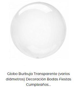 fiesta temática de sirenas globos burbuja