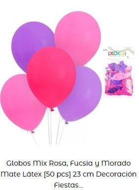 fiesta temática de sirenas globos