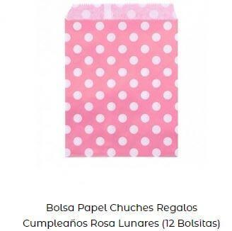 ideas bolsas papel Candy bar