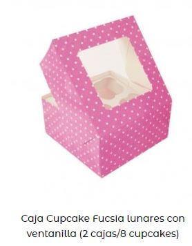 ideas caja cupcakes mesa Candy bar fácil