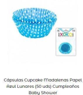 ideas cápsulas cupcakes papel mesa dulce