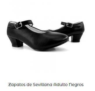 zapatos negros disfraz cruella de vil niña