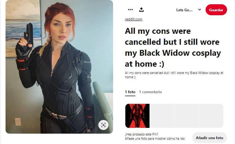 cosplay black widow diy