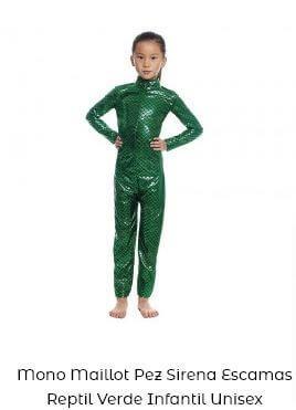 maillot cuerpo entero metalizado niña