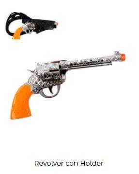 pistolas viuda negra disfraz