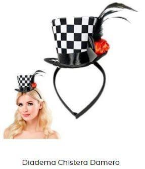 sombrero tocado cruella de vil