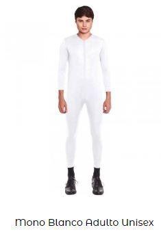 traje blanco disfraz viuda negra mujer
