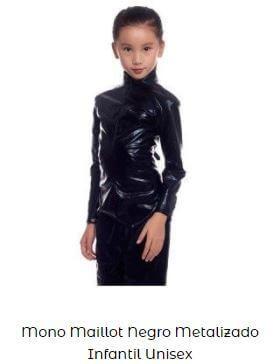 traje disfraz viuda negra niña