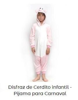 animales de granja disfraces niño cerdo