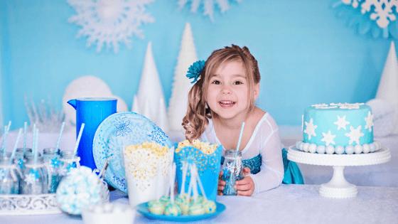 decoración cumpleaños frozen
