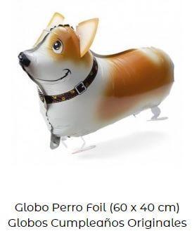 decoración fiesta animales globos perro