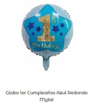 globos un año cumpleaños decoración primer