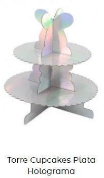 torreta decoración mesa candy bar frozen