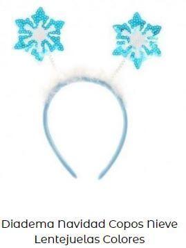 diadema corona elsa frozen disfraz